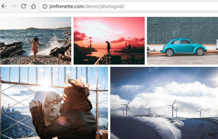 JimFrenette com | Slick Lazy Load Photo Grid Using Webpack 3