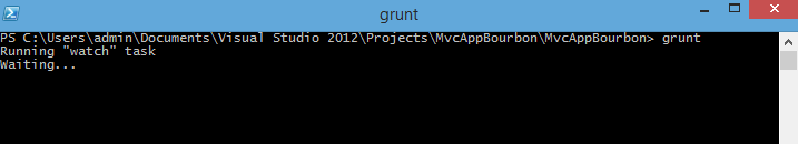 Windows PowerShell – Grunt